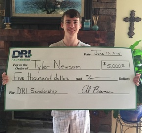 Announcing the Winner of the DRI Foundation Scholarship Award!