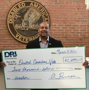 DRI Foundation Supports Disabled American Veterans