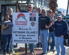 DRI Foundation's Volunteer Work at Veterans Village Featured on NPR